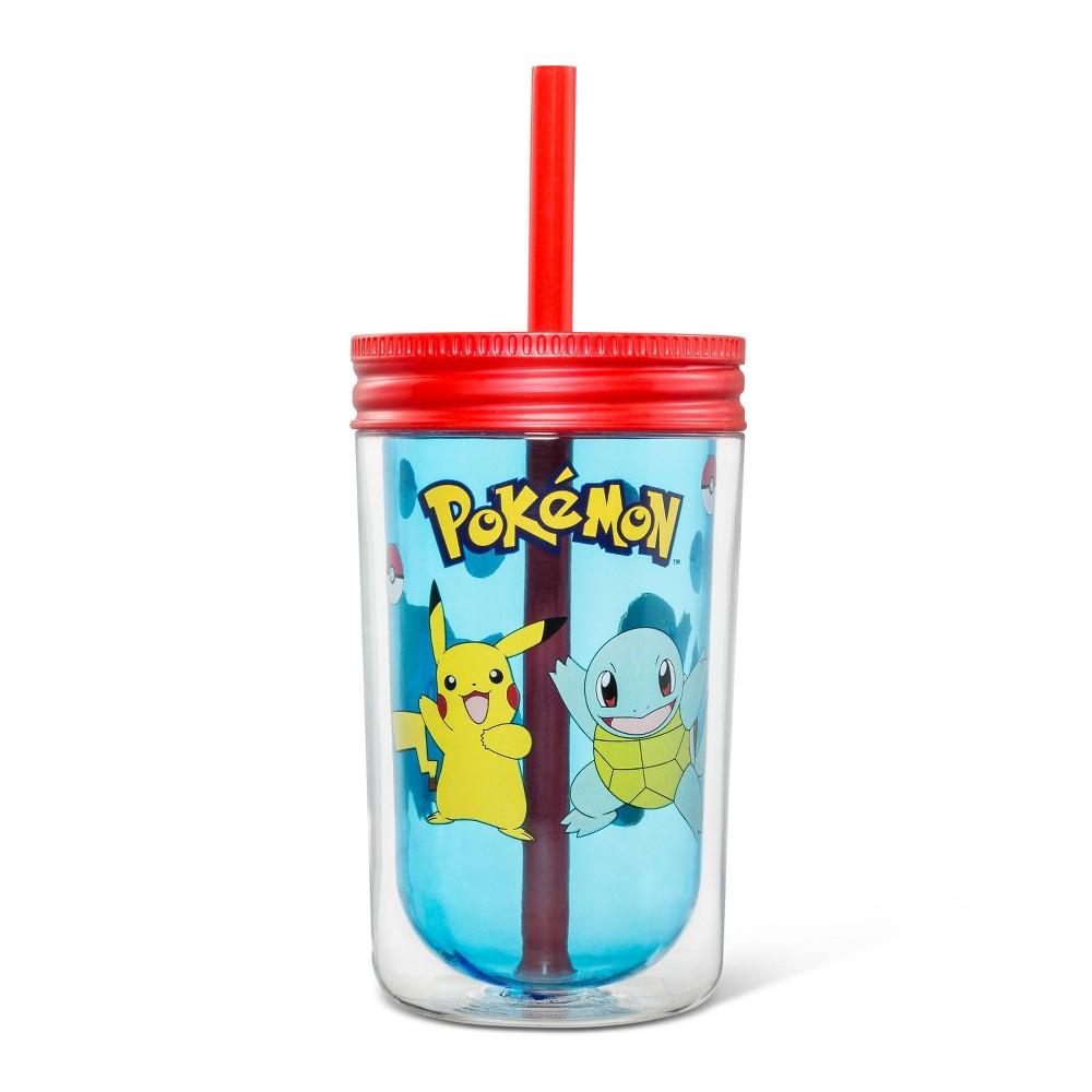 Image of Pokemon 12.5oz Plastic Kids Tumbler
