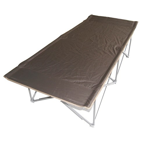 Padded Trim Camping Cot - Gray - image 1 of 1