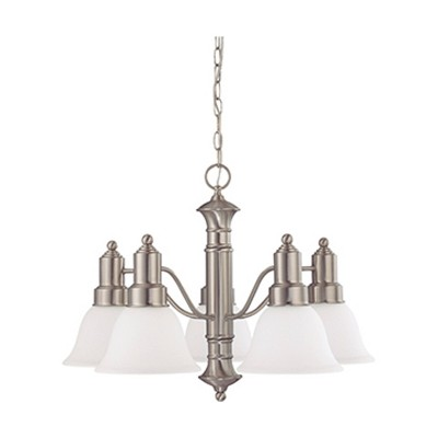 Ceiling Lights Chandelier Brushed Nickel - Aurora Lighting