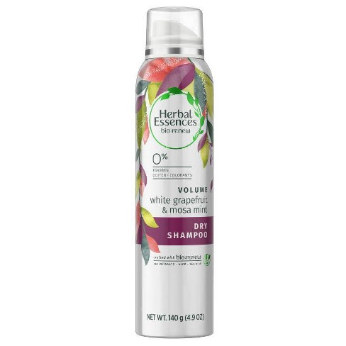 Herbal Essences Bio Renew Volume White Grapefruit & Mosa Mint Dry Shampoo - 4.9oz - image 1 of 4