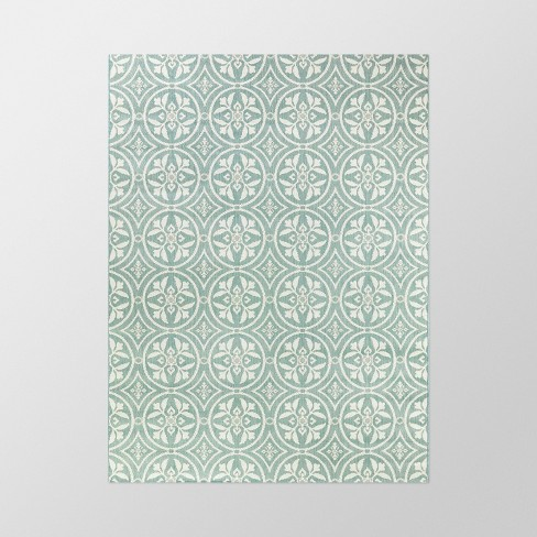 Circle Medallions Outdoor Rug - Threshold™ - image 1 of 2