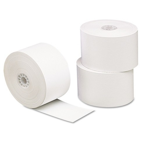 """Universal One Single-Ply Thermal Paper Rolls, 1 3/4""""x230', White, 10pk - image 1 of 1"""