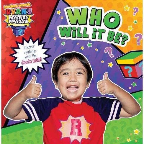 Ryans Avatar Roblox Who Will It Be Ryan S Mystery Playdate By Ryan Kaji Paperback Target
