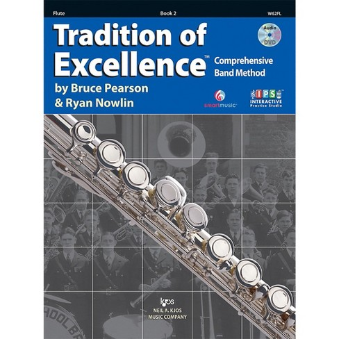 KJOS Tradition Of Excellence Book 2 for Flute - image 1 of 1