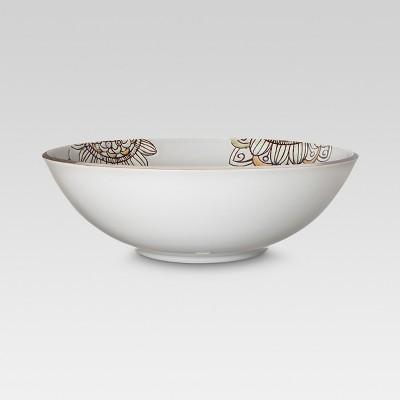 149oz Vermillion Ceramic Serving Bowl - Threshold™
