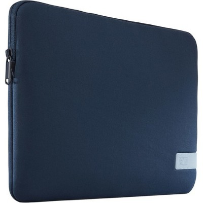 "Case Logic Reflect REFPC-114-DARK-BLUE Carrying Case (Sleeve) for 14.1"" Notebook - Dark Blue - Scratch Resistant - Memory Foam, Plush Interior"