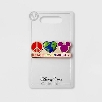 Kids' Disney Peace Love & Mickey Pin - Disney Store