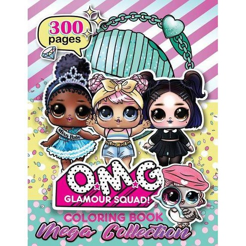 O.M.G. Glamour Squad - by  Books Plus (Paperback) - image 1 of 1