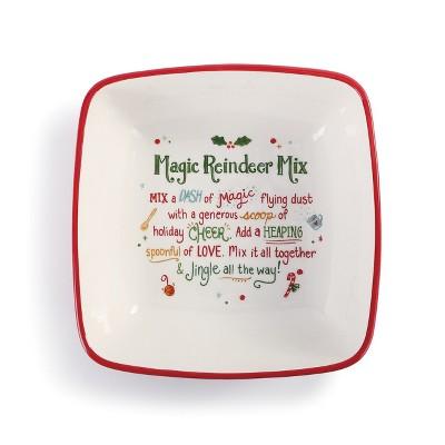 DEMDACO Magic Reindeer Mix Bowl Red