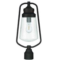 "Park Harbor PHFEL1013 Gunston Single Light 22"" Tall Outdoor Single Head Post Light"