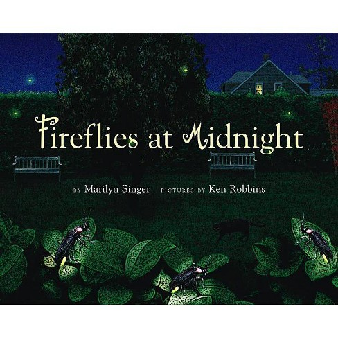 Fireflies at Midnight - by  Marilyn Singer (Hardcover) - image 1 of 1
