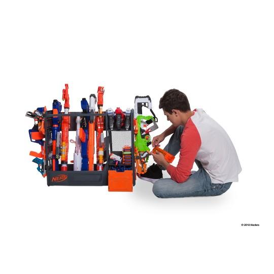 NERF Elite Blaster Rack, toy blaster accessories image number null