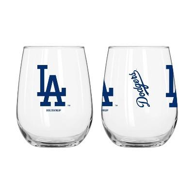 MLB Los Angeles Dodgers Gameday Curved Beverage Glass - 16oz