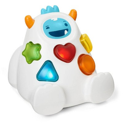 Skip Hop Explore & More Shape Sort & Spin Yeti Toy