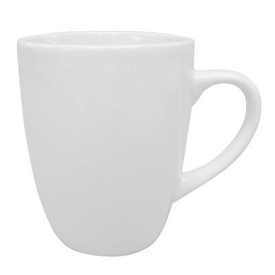 Soft Square 14oz Stoneware Mug White