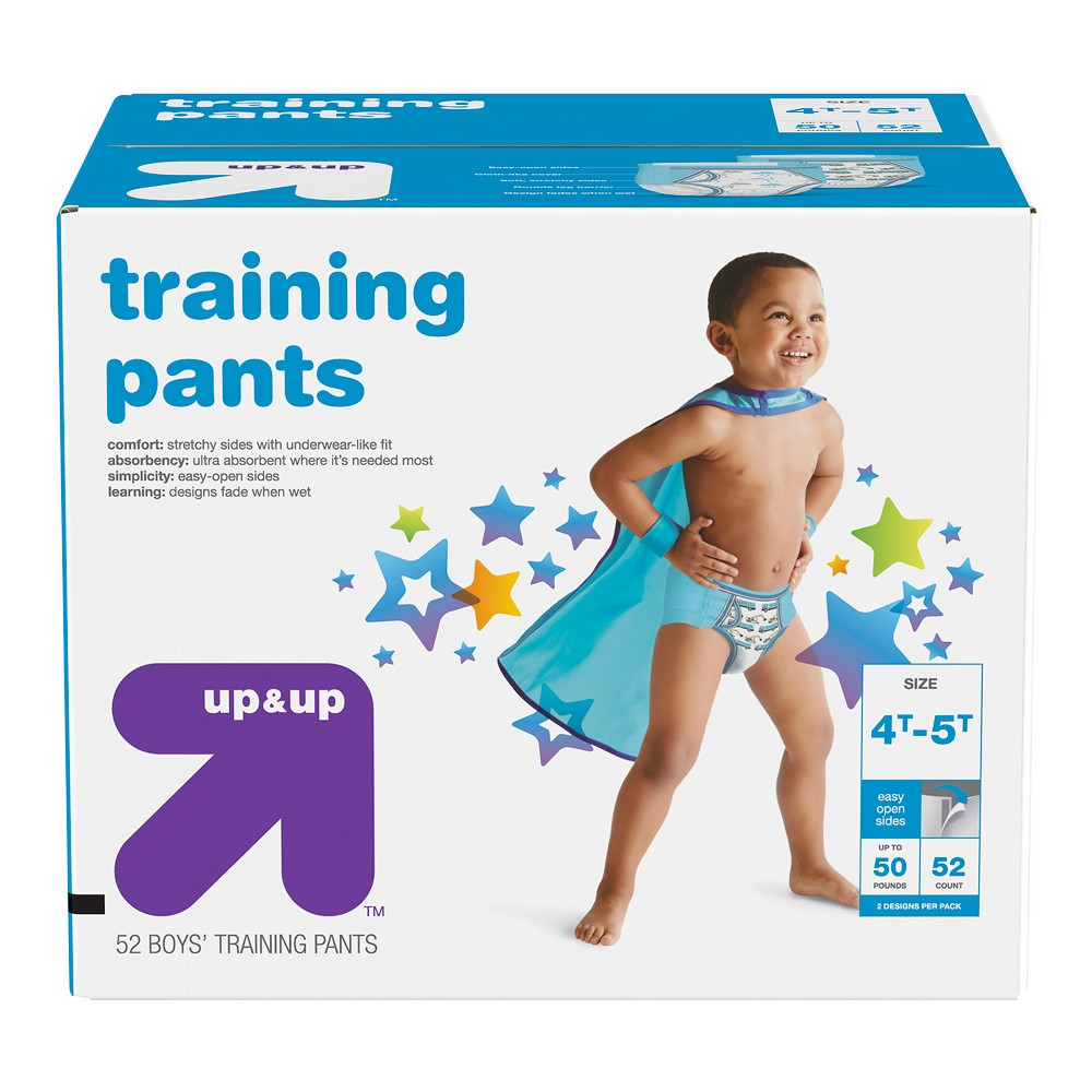 Training Pants for Boys - 4T-5T (52ct) - Up&Up