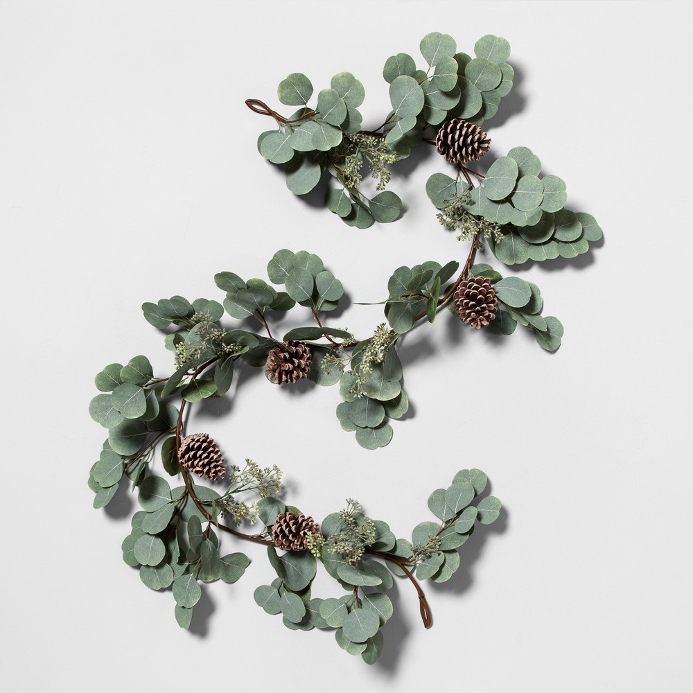 Garland Eucalyptus Pinecone - Hearth & Hand with Magnolia