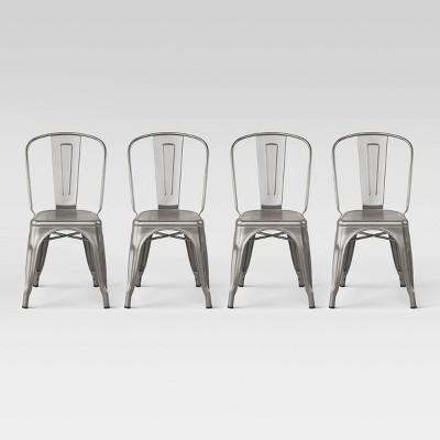 Set of 4 Carlisle High Back Dining Chair Natural - Threshold™