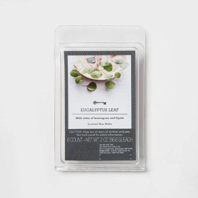 6ct Eucalyptus Leaf Scented Wax Melts - Threshold™