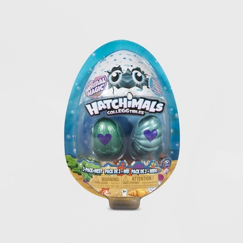 Hatchimals CollEGGtibles Mermal Magic 2pk Nest with Season 5 Hatchimals - image 1 of 6
