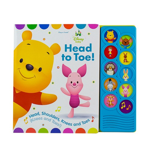 LISTEN AND LEARN SOUND BOOK - DISNEY BABY WINNIE THE POOH (Board Book) - image 1 of 1