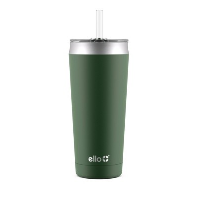 Ello Beacon 24oz Vacuum Stainless Steel Tumbler - Green