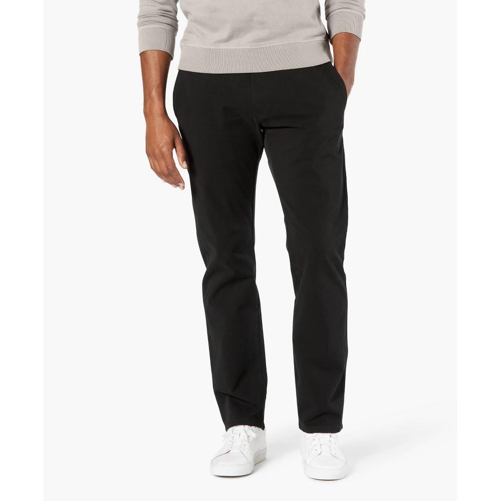 Dockers Men 39 S Straight Fit Smart 360 Flex Ultimate Chino Pants Black 36x30