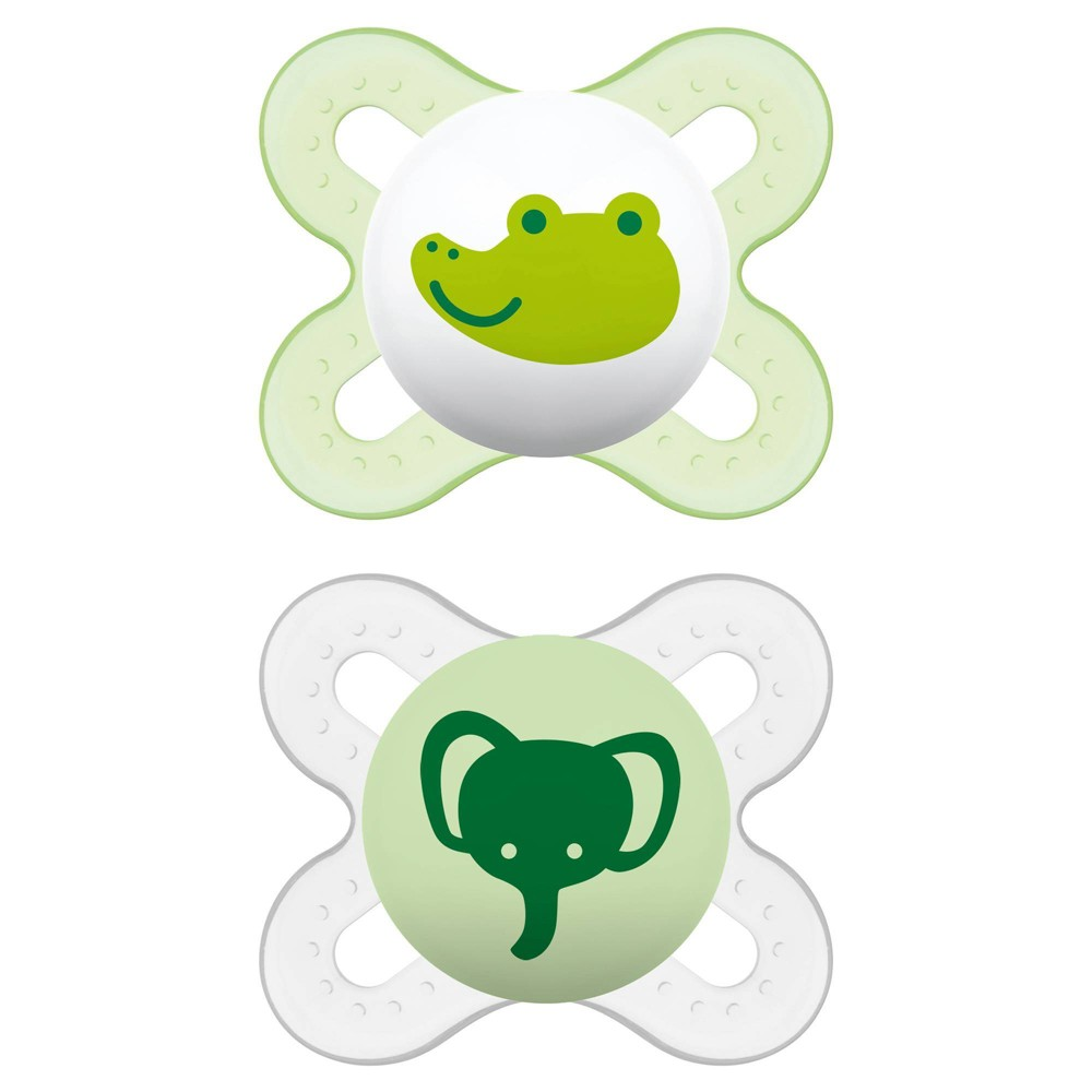Image of MAM Start Pacifier 0+ Months - 2ct Yellow