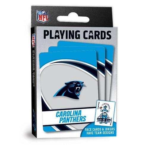 NFL Carolina Panthers Playing Cards - image 1 of 4
