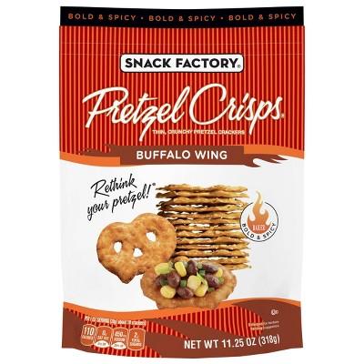 Pretzel Crisps Buffalo Wing Pretzel Crackers - 11.25oz