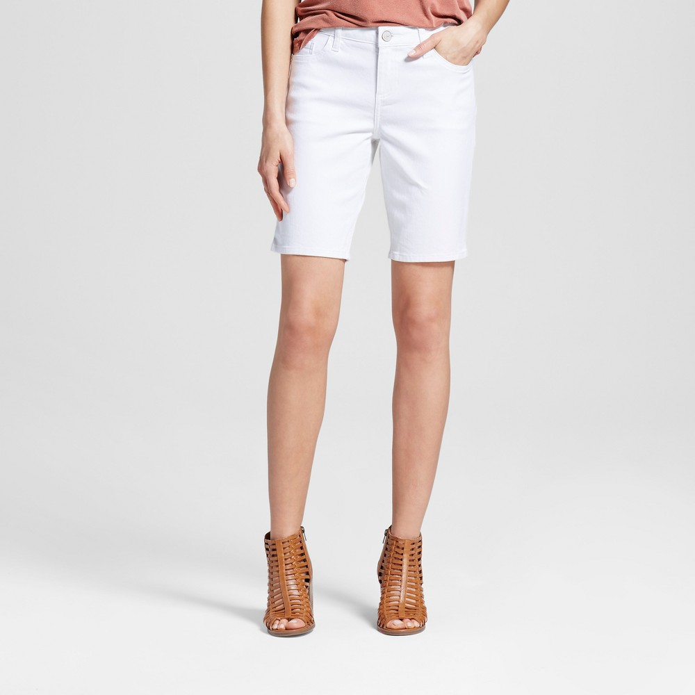 Women's Logan 10 Bermuda Jean Shorts - Crafted by Lee White 2