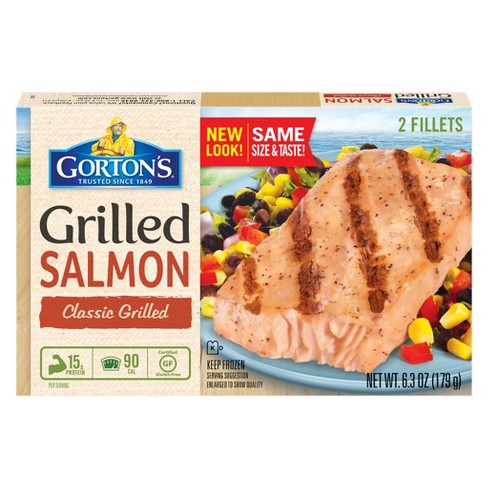 Gorton's Classic Grilled Salmon - 2ct - image 1 of 1