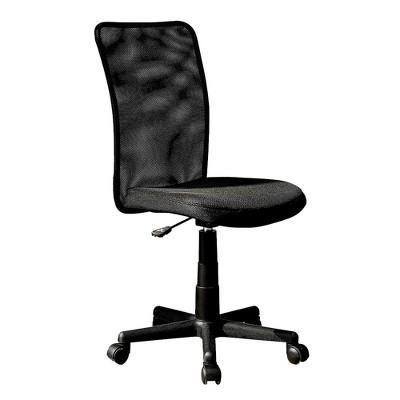Mesh Task Office Chair Black - Techni Mobili