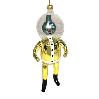 "Italian Ornaments 6.0"" Spaceman Outer Space Italian Ornament  -  Tree Ornaments"