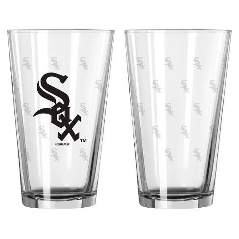 Boelter Brands MLB Chicago White Sox Set of 2 Pint Glass - 16oz - image 1 of 1