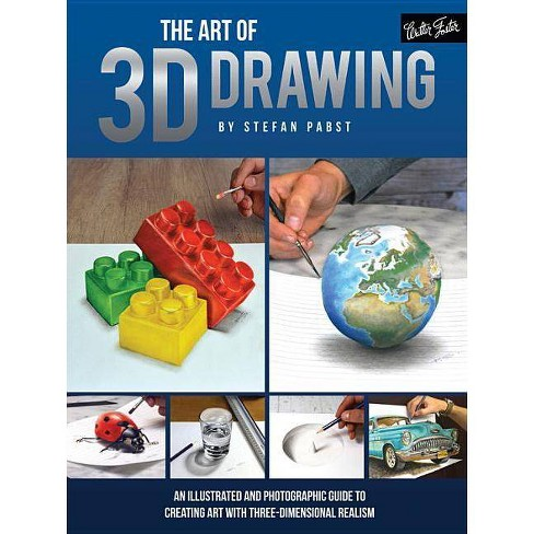 The Art of 3D Drawing - by  Stefan Pabst (Paperback) - image 1 of 1