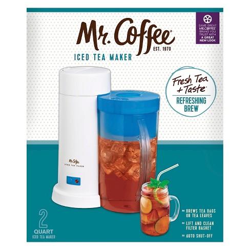 Mr Coffee Iced Tea Maker 2 Qt Blue Target