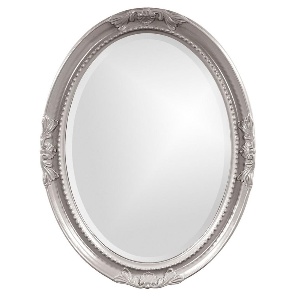 Howard Elliott - Queen Ann Nickel Mirror, Gray