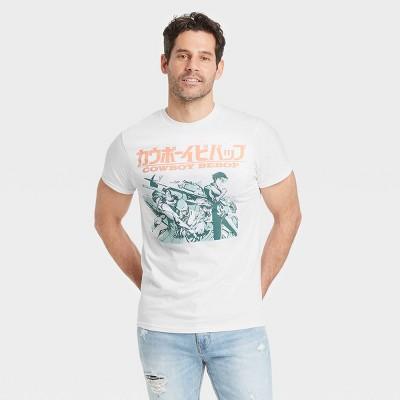 Men's Cowboy Bebop Short Sleeve Graphic T-Shirt - White