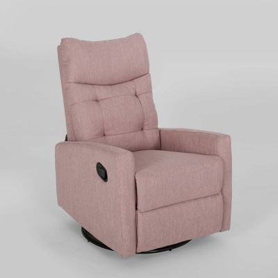 Woodglen Contemporary Glider Swivel Recliner - Christopher Knight Home