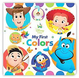 Disney Baby My First Colors (Hardcover)(Marcy Kelman)
