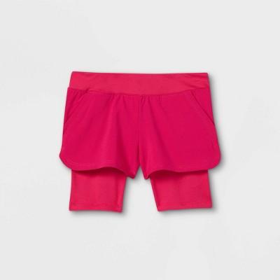 Toddler Girls' Activewear Shorts - Cat & Jack™ Pink