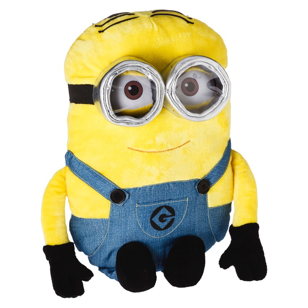 Minions Throw Pillow, Multi-Colored