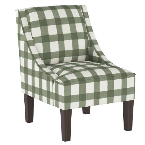 Groovy Hudson Accent Chair Buffalo Square Sage Threshold Gmtry Best Dining Table And Chair Ideas Images Gmtryco