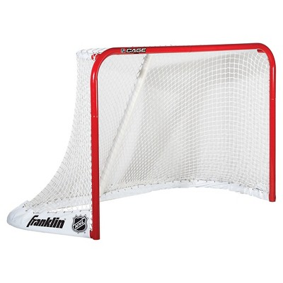 "Franklin Sports NHL Cage Steel Goal - Red (72"")"