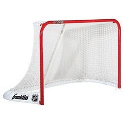 """Franklin Sports NHL Cage Steel Goal - Red (72"""")"""