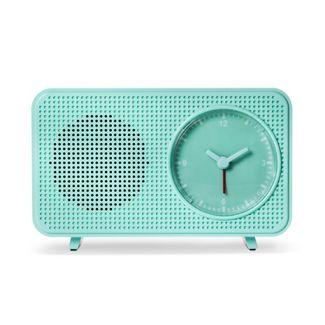 heyday™ Retro Clock Bluetooth Speaker - Green