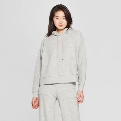 Women's Long Sleeve Slouchy Sweatshirt - Who What Wear™ Gray XL