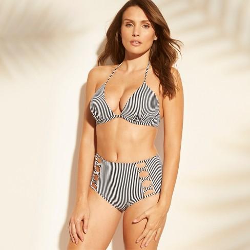 6207cf8dd91d2 Women s Beach High Waist Strappy Bikini Bottom - Shade   Shore ...