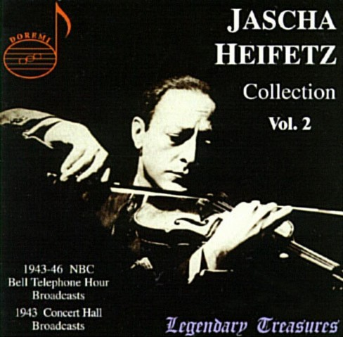 Jascha Heifetz - Heifetz Collection:Vol 2 (CD) - image 1 of 1